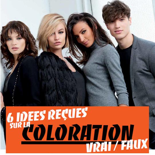 6 idées recues sur la coloration